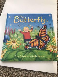 Usborne storybook, The Butterfly