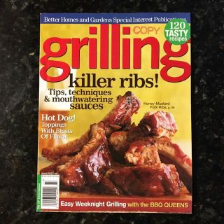 Grill Recipes! Excellent condition.