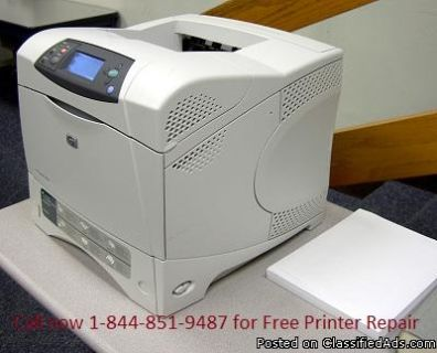 Get your printer repaired Instantly 1-844-851
