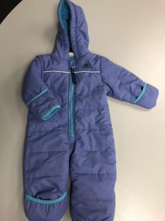 Molehill Mountain Equipment one piece snowsuit bunting. Size 6 months. Like new. $10