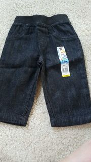 New with tags size 6 to 9 months Garanimals jeans