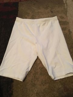 George lg 10/12 wht bike shorts - ppu (near old chemstrand & 29) or PU @ the Marcus Pointe Thrift Store (on W st)