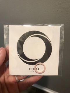 Enso Pink Sand Rubber Ring sz 4