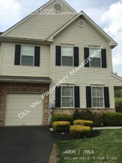 Large 4 Bedroom End-Unit Townhome for Rent -Waterford Greene