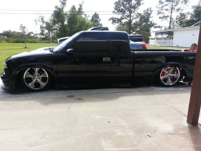 bagged 2000 chevy s10 xtreme