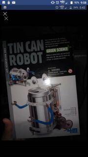 Make Your Own Tin Can Robot