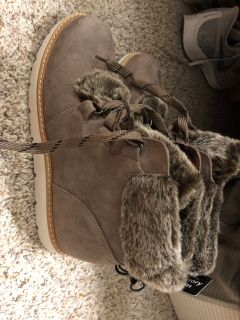 ANA Suede Winter Boots Brand New