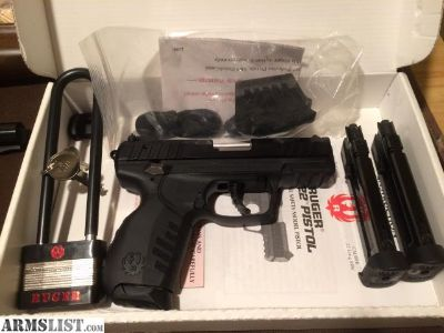 For Sale: Ruger SR22 with 3 Magazines