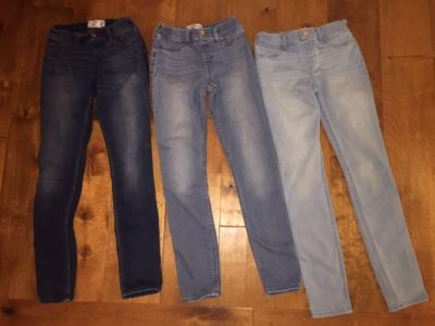 Abercrombie pull-on jeggings, great condition, size 13/14, total $25
