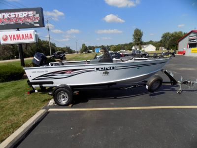 2007 Lund 1660 Classic SS Fishing Boats Janesville, WI