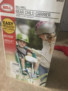 Rear child carrier
