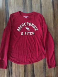Abercrombie & Fitch Adorable Top - Size 9/10..stitching is Gold not Silver