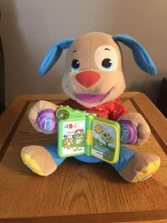 Fisher Price Laugh and Learn Friends Singing Story Time Puppy Dog Book