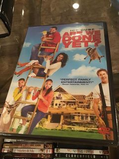 Factory sealed Are We Done Yet? DVD