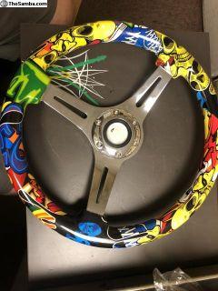 Cool steering wheel