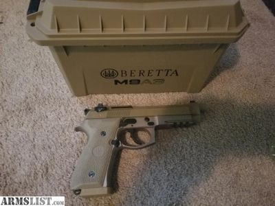 For Sale: Berretta M9A3 like new