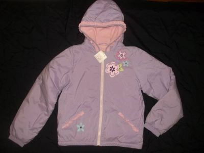 NWT Hanna Andersson Girl Jacket Fleece Lined size 160 (14-16) Lavender