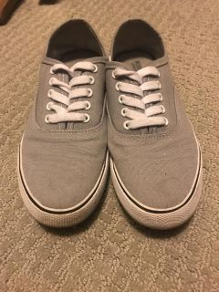 Grey sneakers size 7