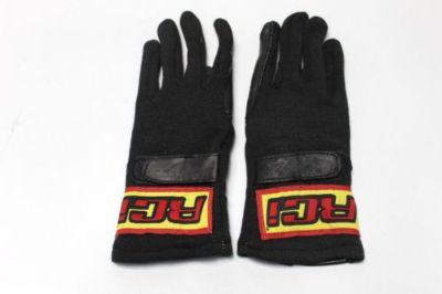 RCI RACE GLOVES Nomex Single Layer Black SFI 3.3/1 Racing