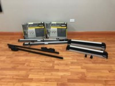 Thule racks for kayaks, bikes, skis and a square bar
