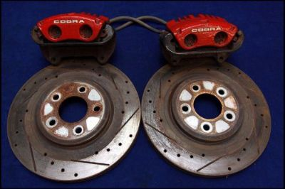 "Purchase 03 04 FORD MUSTANG SVT COBRA 13"" PBR FRONT BRAKE KIT BRAKES 2003 2004 13 99 01 motorcycle in Lyons, Georgia, United States, for US $374.99"