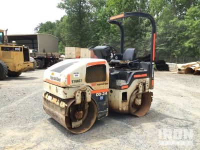 Ingersoll-Rand DD-24 Vibratory Double Drum Roller
