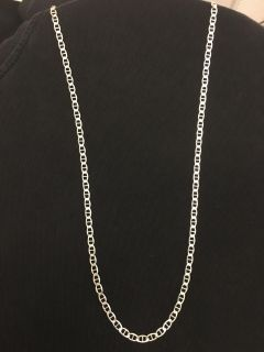 22 Sterling Silver Chain