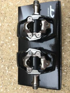 Mountain bike trail SPD clipless pedals & cleats
