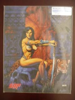 amazon empire volume one a gallery girls coll-art autograph/serial # 178/1000