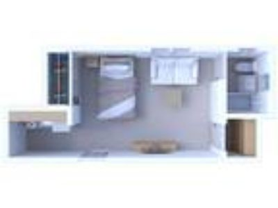 Museum Walk Apartments - Studio Floor Plan S1