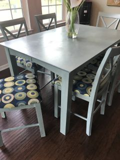 Table and chairs (dining)