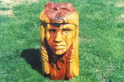 Stump carving