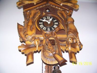 After the hunt Cuckoo clock 8 day