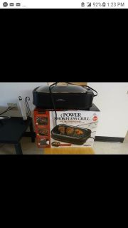 New Powerhouse Smokeless Grill/Griddle
