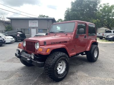 2003 Jeep Wrangler Rubicon (Maroon)