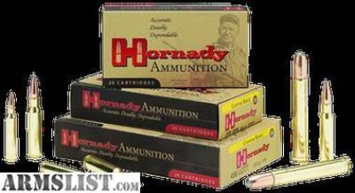 For Sale: Hornady 8093 Custom 308 Winchester/7.62 NATO 150 GR SST 20rounds-flat rate shipping 14.95