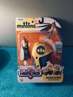 (( Brand-New. // Un-Opened. )) Minions Flying Figure.