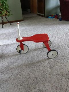 Antique childs tricycle.