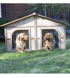 ISO double dog house or somebody who can build one!