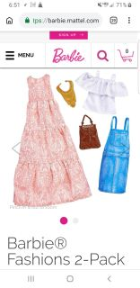 Gently used Barbies & Barbie clothes/accessories