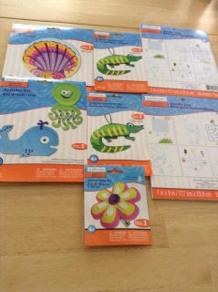 New craft kits and activities