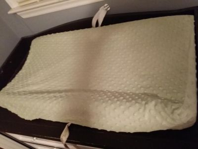 Carters Infant / baby changing mat with cover