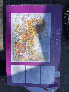 Unopened Colouring Book