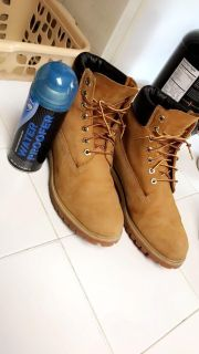 Timberland boots size 10 (negotiable)