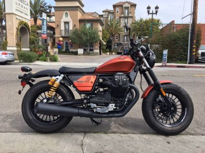 2019 Moto Guzzi V9 Bobber Sport Cruiser Marina Del Rey, CA