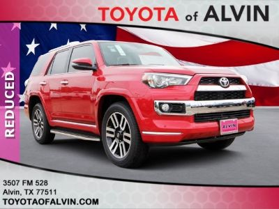 2019 Toyota 4Runner Limited (red)