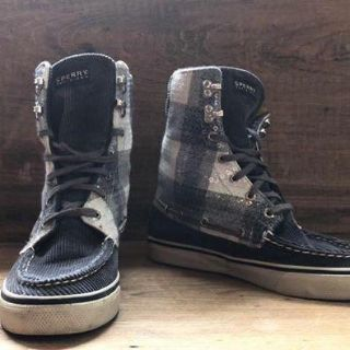 High Top Sperry Top Siders