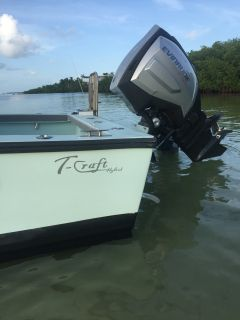 2017 Evinrude G2 300 hp (600 hrs)