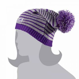 Find Arctic Cat Women's Aircat Slouch Pom Beanie Hat - Purple / Gray - 5253-130 motorcycle in Sauk Centre, Minnesota, United States, for US $9.99