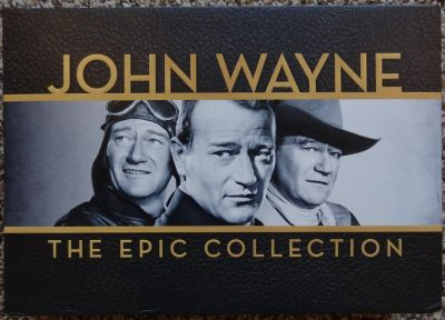 JOHN WAYNE: The Epic Collection - 40 Film Collection - 38 DVDs